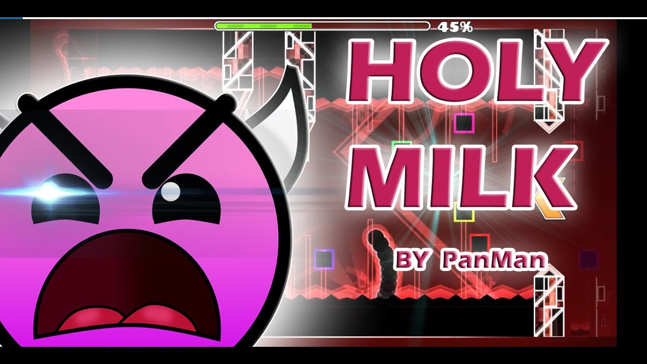 ll geometry moneda maldita v holy milk by panman ll geometry dash