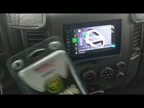 Nissan Armada Steering Control Interface