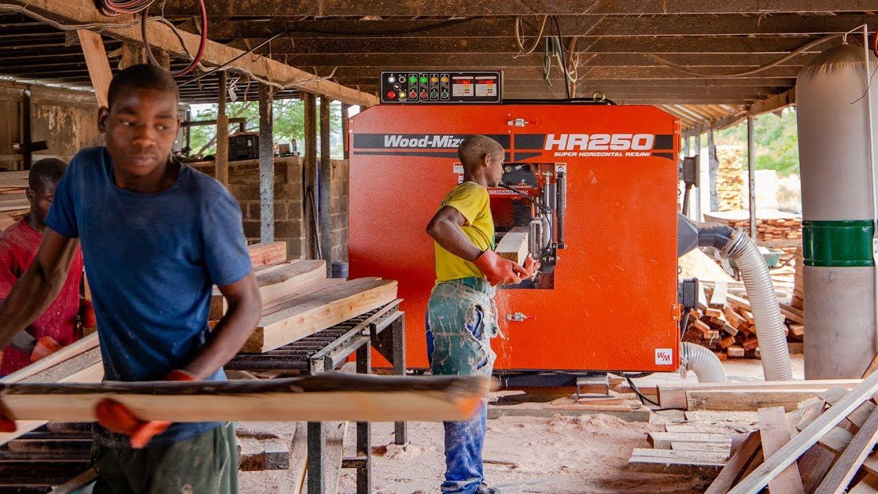 Wood-Mizer Resaws