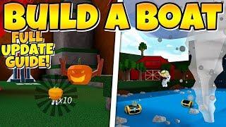 HALLOWEEN UPDATE Full walkthrough! ( Boss, Chests & More! ) Build a Boat