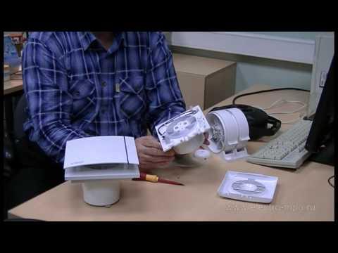 Простой способ подключения вентилятора в ванной