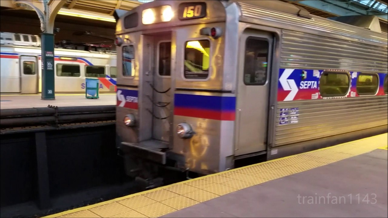saturday septa regional rail action at 30th street station 12 3 16 youtube. Black Bedroom Furniture Sets. Home Design Ideas