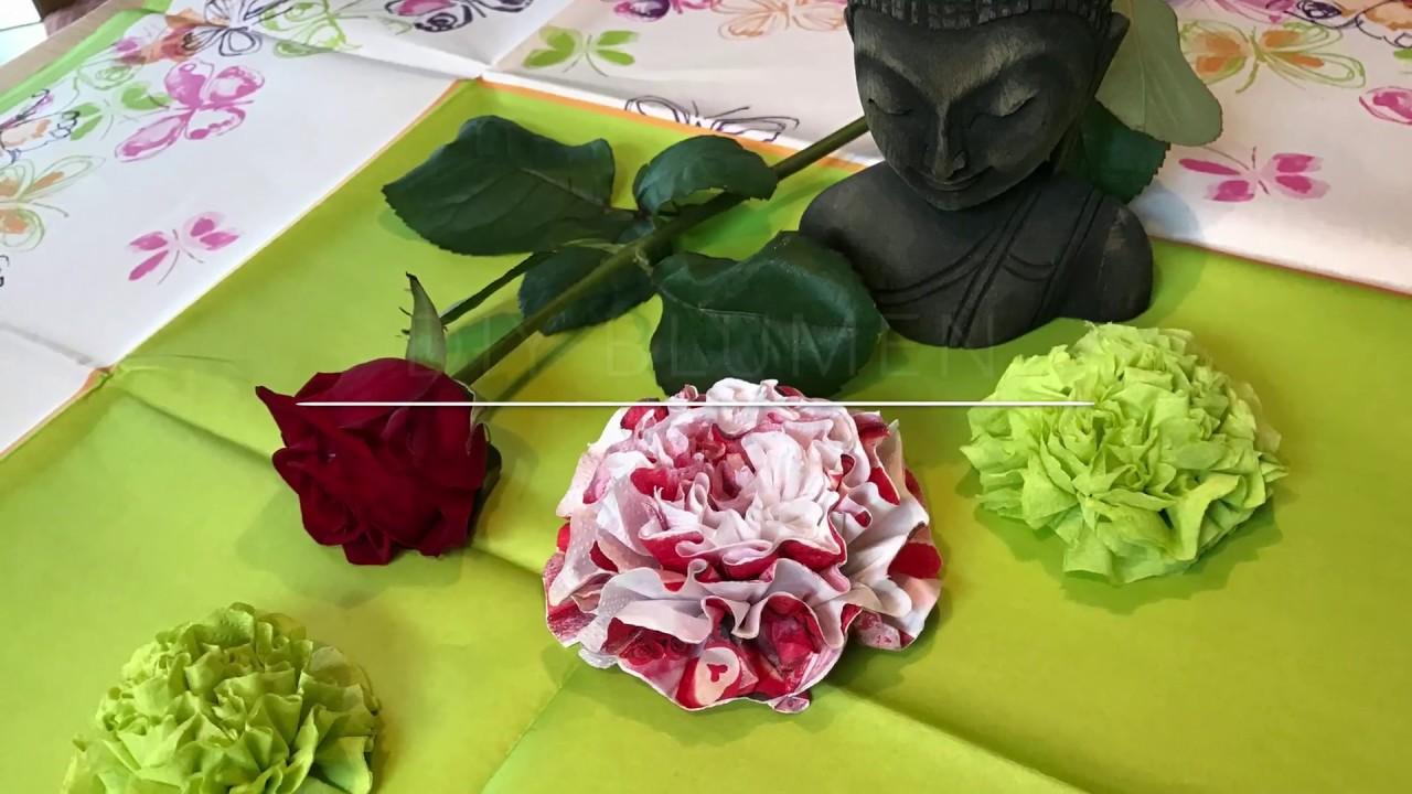 DIY Blumen Aus Servierten // Servierten Origami | DIY Queens ⚜️