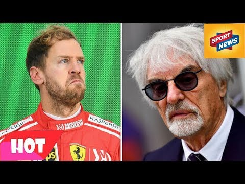 Sebastian Vettel: What Ferrari failed to do in Lewis Hamilton scrap - Bernie Ecclestone