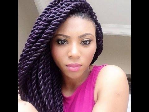 Beautiful Crochet Braids Hairstyles For African Nigerian Women In