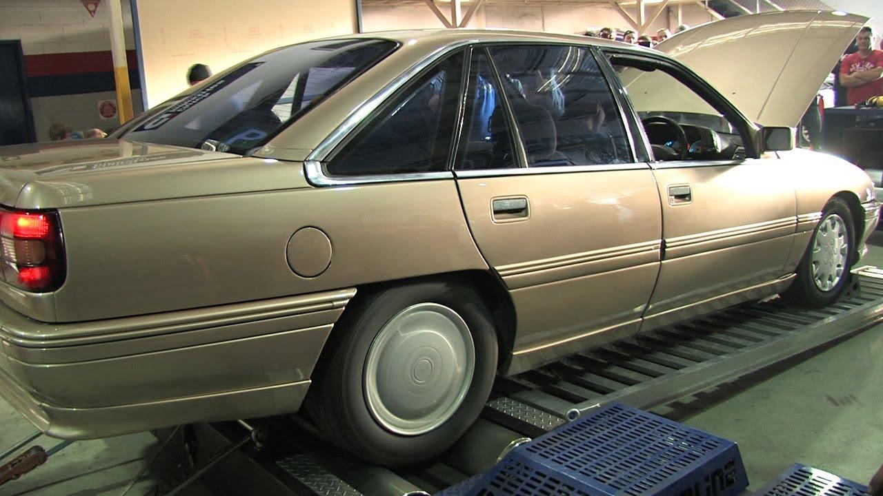 V6 turbo Commodore dyno