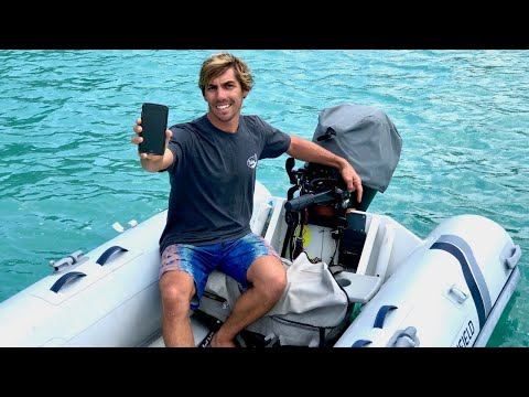 Monitoring And Controlling Our Dinghy FROM AN APP! Installing Siren Marine On Our Dinghy.
