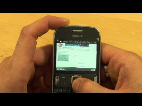 Nokia Asha 302 - Internet - Teil 3