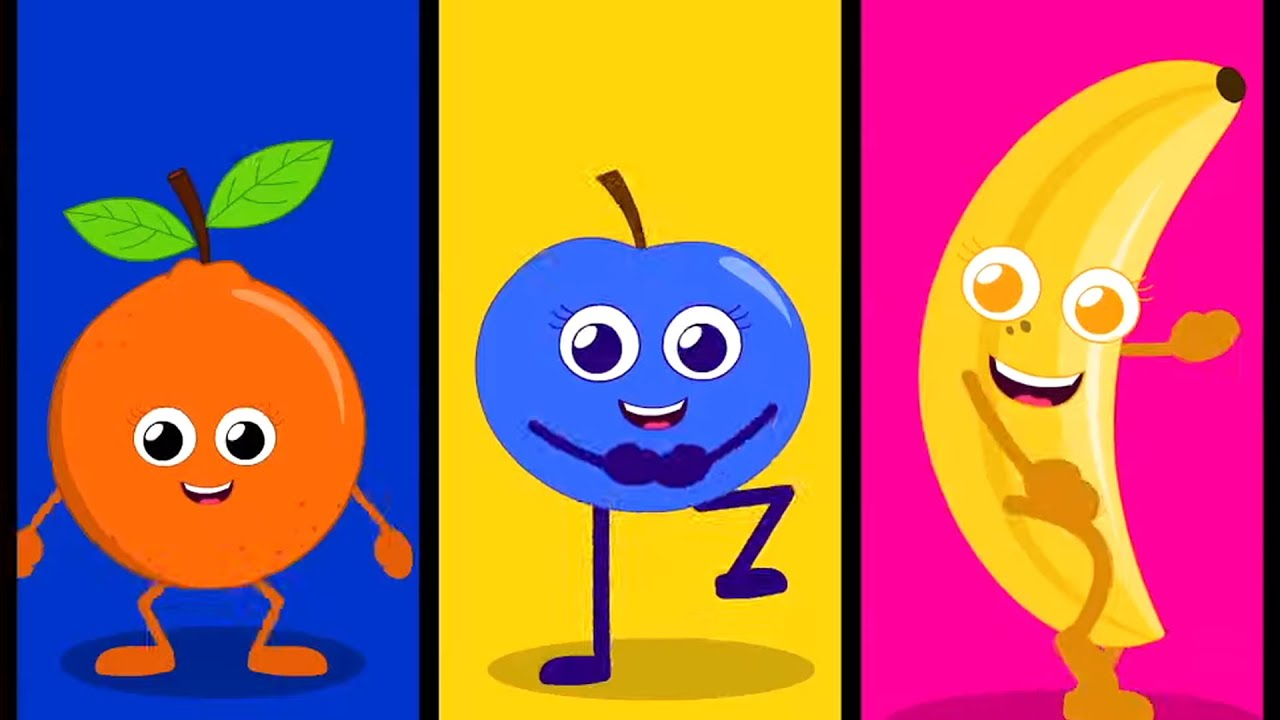 Fruits Love You | Fruits Song for Children | Nursery Rhymes And Kids Song | Learn Fruit Colors