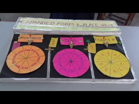 Expanded Form And Place Value    Maths Project   