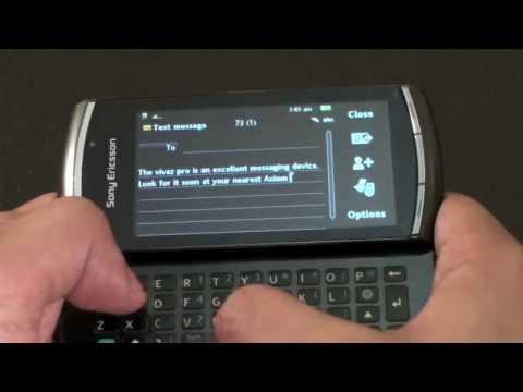 Axiom Video Review - Sony Ericsson Vivaz Pro