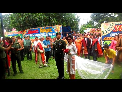 Acara SANGKUR Pora Serda Pangaribuan 💗 - Pesta Pernikahan Adat Batak