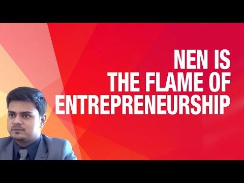 NEN's E-cells and Mentors Enlightens the Flame of Entrepreneurship in the Youth - Kshitij Kumar