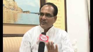Shivraj Singh Chouhan Cm MP Interview/Sunil Shrivastava/ Bharat Samachar