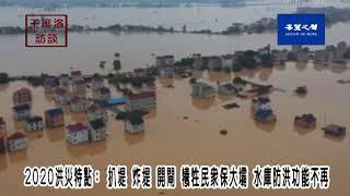 2020洪災特點:水庫防洪功能不再  扒堤 炸堤 開閘  犧牲民衆保大壩【王維洛访谈】