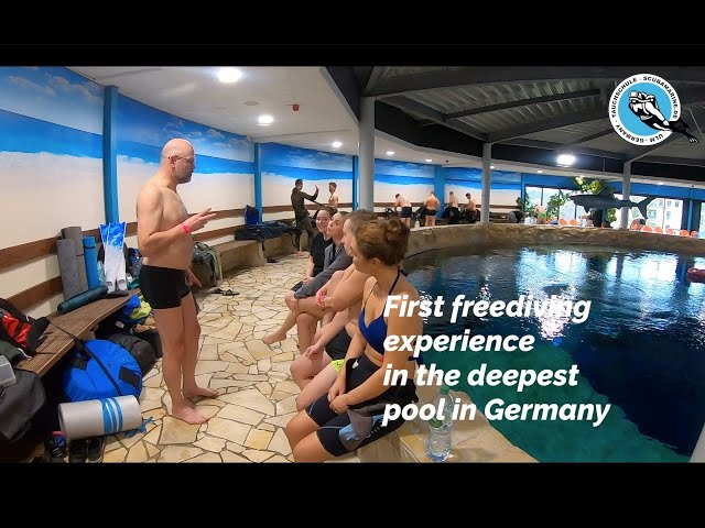 Freediving experience in the deepest pool in Germany