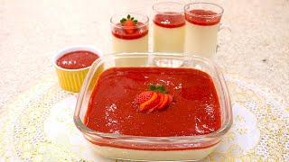 Sobremesa Gelada – Pannacotta Super Fácil