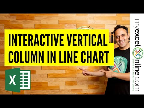 Excel Graphs and Charts Tutorial -  Line Chart & Interactive Column