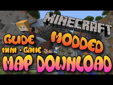Minecraft Xbox 360/One/PS3/PS4/PE/Wii U - Modded Glide Mini Game Map W/Download