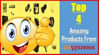 Top 4 Amazing Products From AliExpress 2019  Gadgets  Gearbest  Banggood  Cool Toys