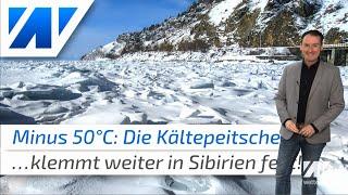 Die Kältepeitsche steckt fest: Weiterhin Bibberwetter bei minus 50°C!