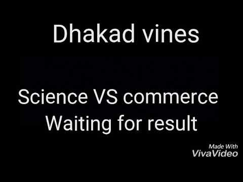 Dhakad vines #1 science VS commerce student before exams