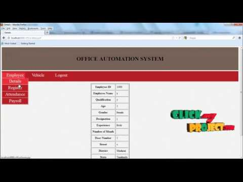 final year projects office automation system application advantages of office automation