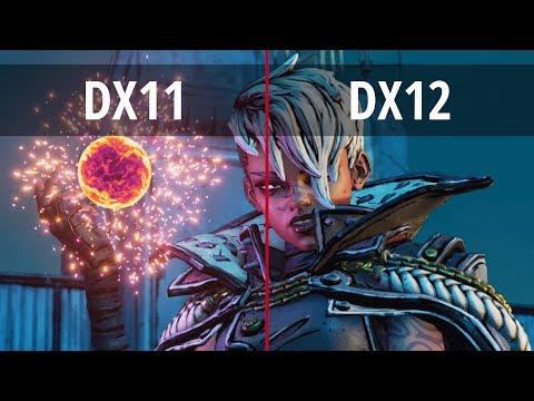 BORDERLANDS 3 – PC DX11 vs DX12 (DirectX 11 vs DirectX 12)