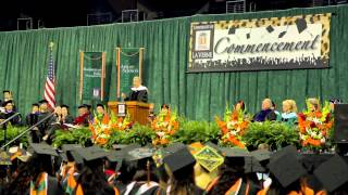University of La Verne 2013 Commencement Speaker Joe