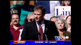 Scott Brown Claims Elizabeth Dole