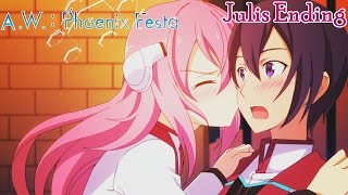 Asterisk War: Phoenix Festa - Walkthrough Part 8 | Julis Ending [English, Full 1080p HD]