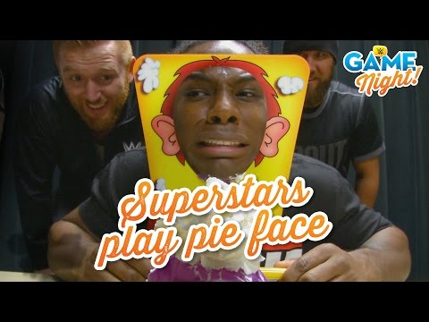 WWE Superstars Play Pie Face: WWE Game Night
