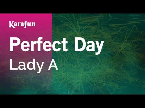Karaoke Perfect Day - Lady Antebellum *