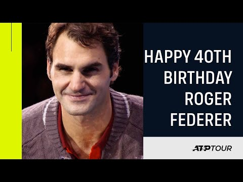 Roger Federer's 40 Best Moments!