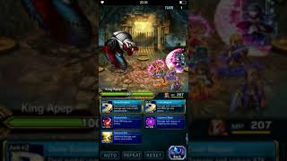 FFBE: God of Chaos | All Missions with F2P Units & Equipments Only | Easy Kill with Magic Mission