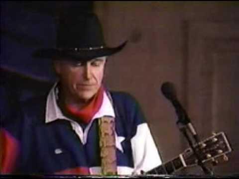 Jerry Jeff Walker Rodeo Wind Live 1989 Youtube