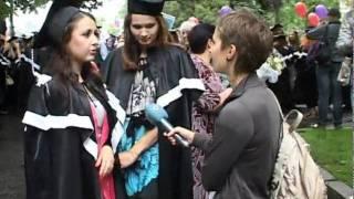 Выпускной в университете имени Каразина