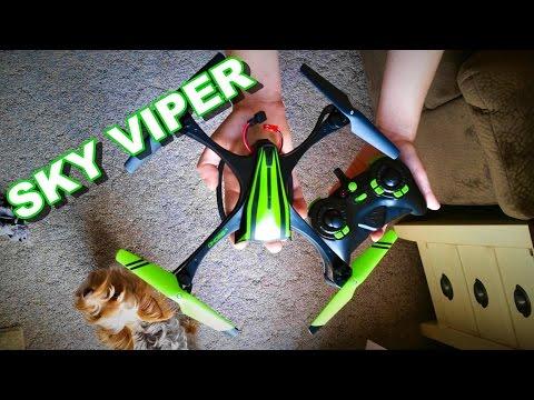 Sky Viper V950HD – изработен от нов вид полимер стабилен квадрокоптер с камера 9