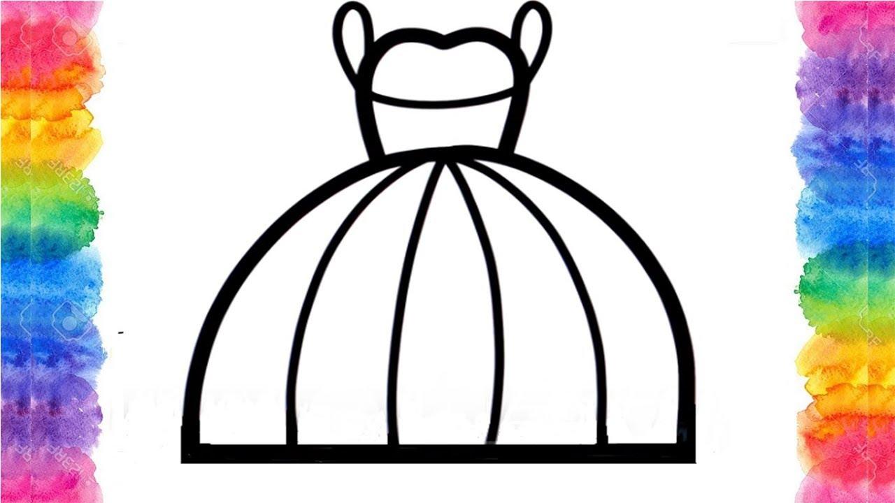 7 Farklı Prenses Elbisesi Nasıl Boyanır çocuklar Için Boyama