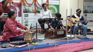 Jokhon somoy thomke daray by Sayak Chatterjee and guitar with Rupak Da