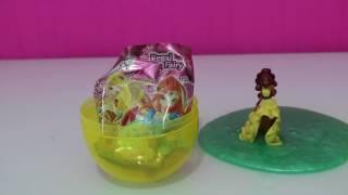 Slime Kaplı Dev Surpriz Yumurta - Winx Perileri Oyuncak Paketleri Açma - Bidünya Oyuncak
