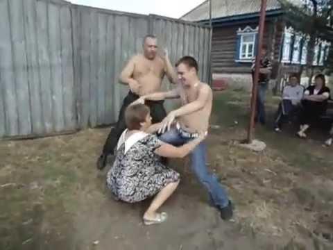 Порно в деревне с тетей