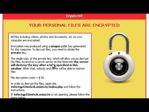 """How to remove Cryptorbit/Bitcrypt virus and """"HOWDECRYPT"""" your encrypted files for FREE"""