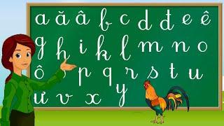 Thanh nấm - Dạy bé tập đọc bảng chữ cái tiếng việt mới nhất và cách viết chữ, phát âm chuẩn 2020