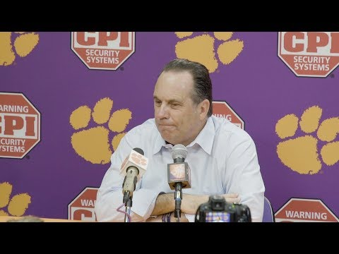 @NDMBB | Mike Brey Press Conference at Clemson (2018)