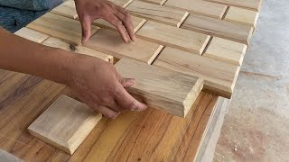 The Best Way T๐ Use Old Wood // The Perfect Wood Recycling Project