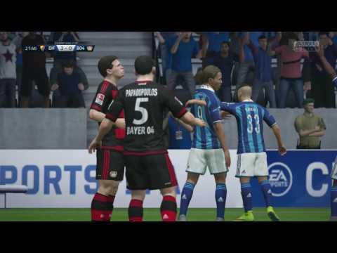 Djurgårdens IF vs Bayer 04 - 3-1 - Champions Cup Semi (Fifa 16, Career Mode)