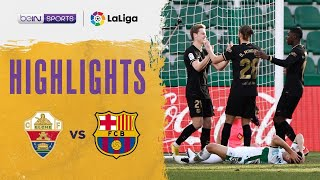 Elche 0-2 Barcelona | LaLiga 20/21 Match Highlights