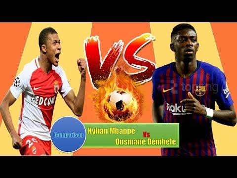 Kylian Mbappe Vs Ousmane Dembele Career | Match,Goal,Assist,Award,Card,Trophy & More | Lifestyle 360