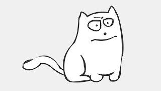 Почему коты смотрят в одну точку?